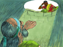 Jeremiah in a cistern (http://freebibleimages.org/illustrations/jeremiah-cistern/ Slide 9)