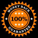 """Money Back Guarantee Sticker"" by vectorportal (https://openclipart.org/detail/103339/money-back-guarantee-sticker)"