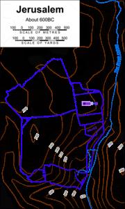 Jerusalem about 600BC
