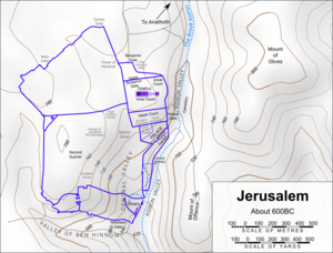 Jerusalem about 600BC for Terror on Every Side!