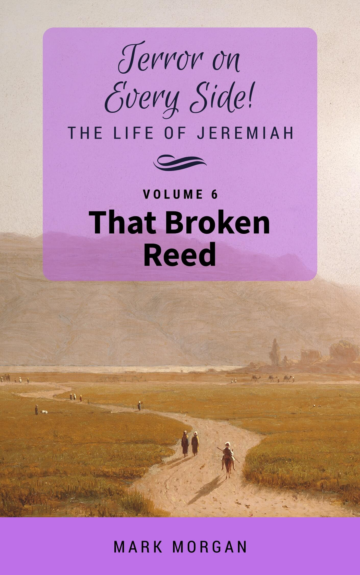 Terror on Every Side! Volume 6 – That Broken Reed: FrontCover