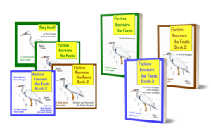 Fiction Favours the Facts Books 1 to 3: Bible-based microtales – audiobooks and paperbacks