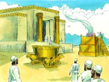 Destroying Solomon's temple: